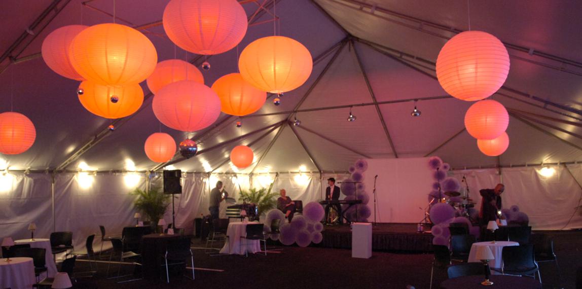 Tent at PGC
