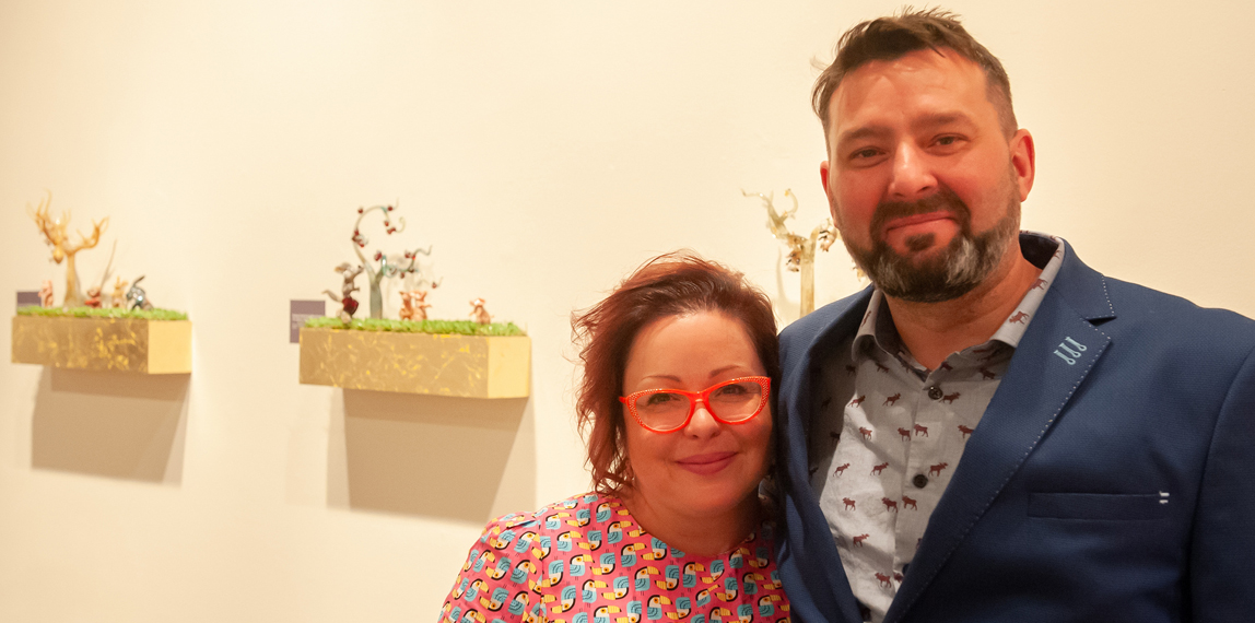 Karina Guevin and Cedric Ginart
