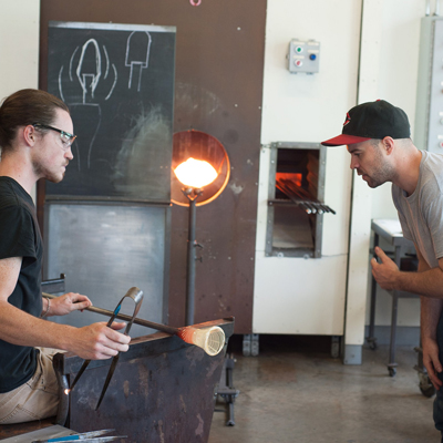 Glassblowing private lesson