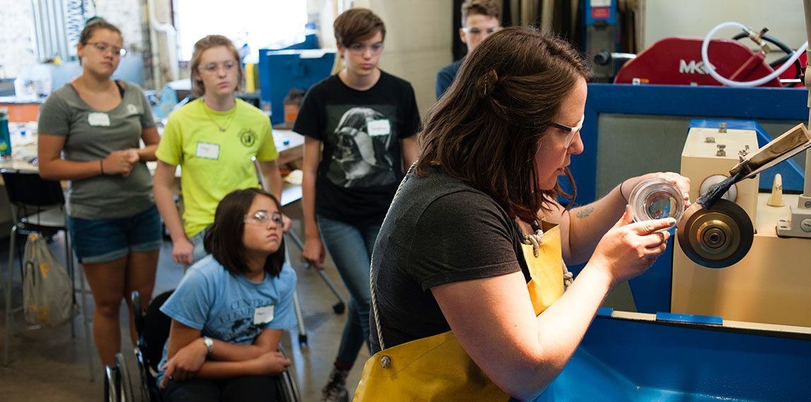 Teen Glass Art Camp at Pittsburgh Glass Center