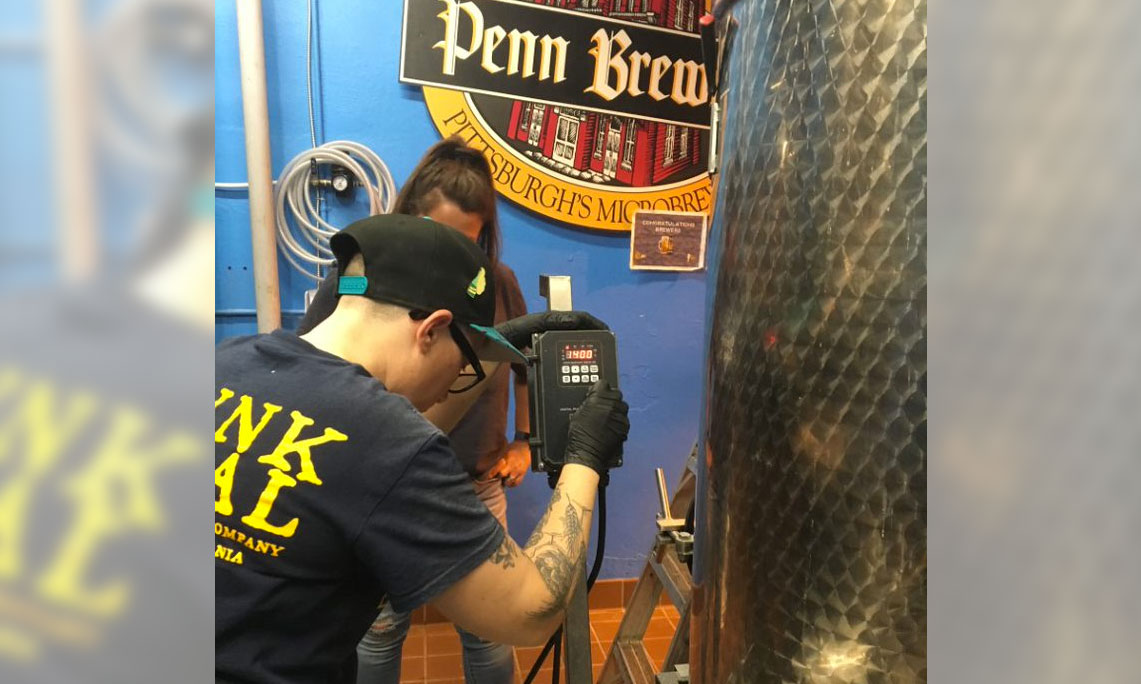 PGC staff helps brew beer collaboration at Penn Brewery