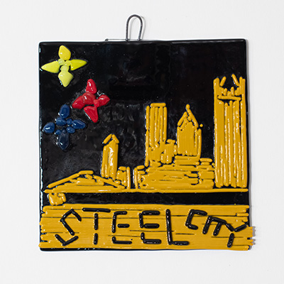 Make a Pittsburgh Pride fused tile at Pittsburgh Glass Center