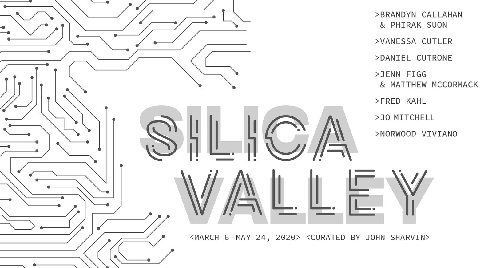 Silica Valley exhibition at Pittsburgh Glass Center