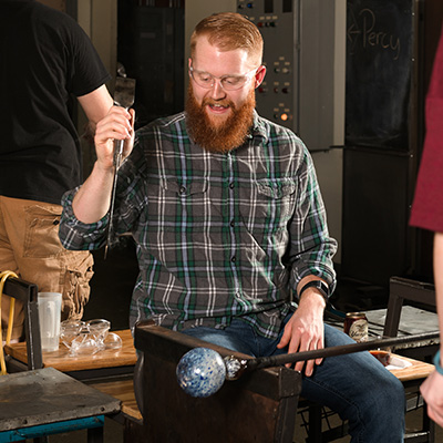 21 and up art event at Pittsburgh Glass Center