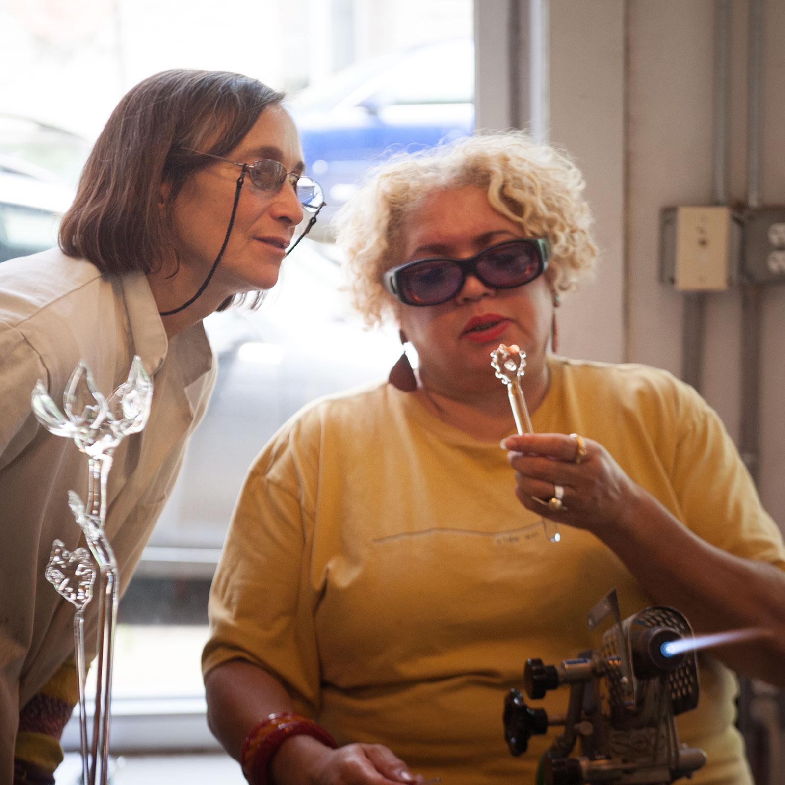Private Glass Art Lessons at Pittsburgh Glass Center