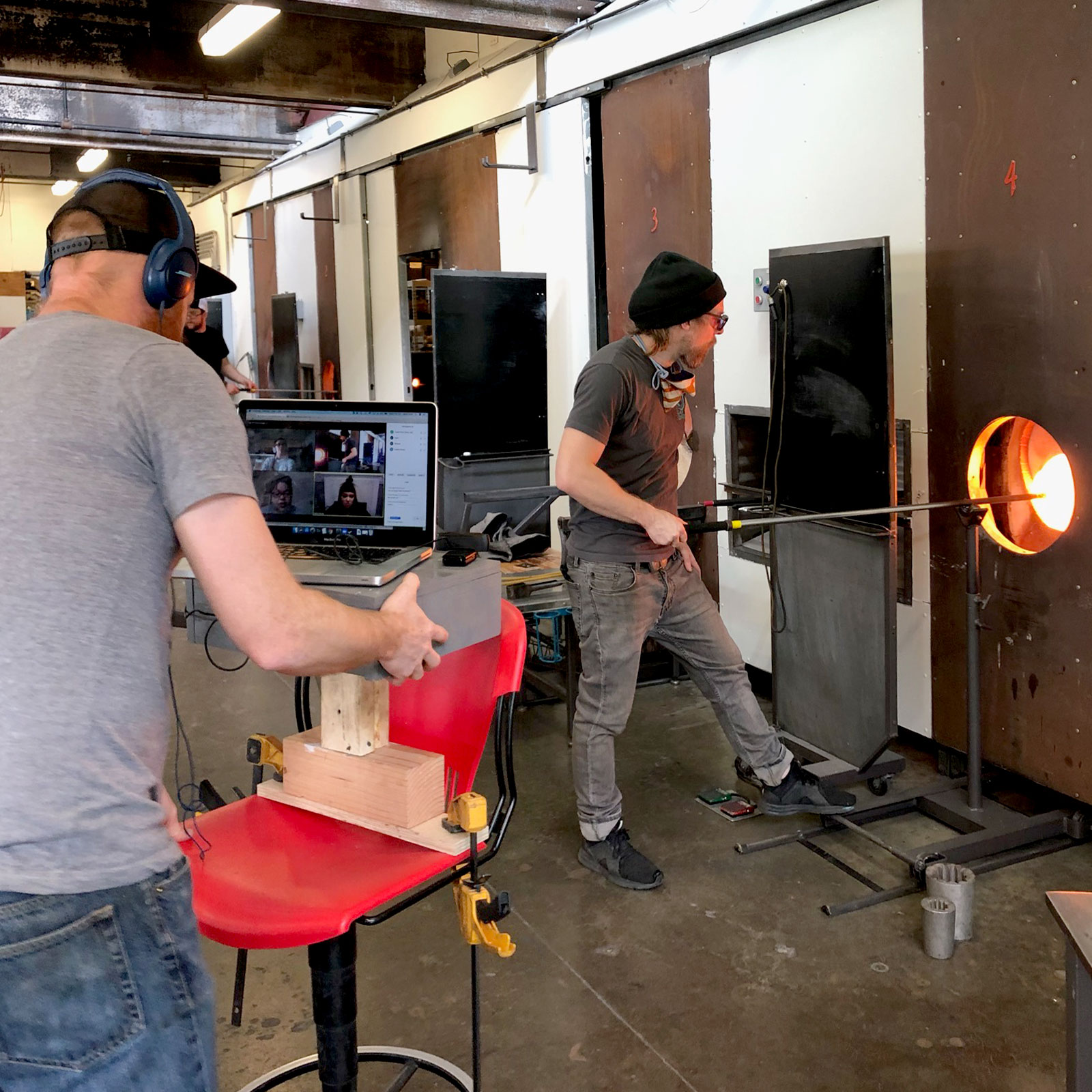 Virtual Demonstrations with Pittsburgh Glass Center