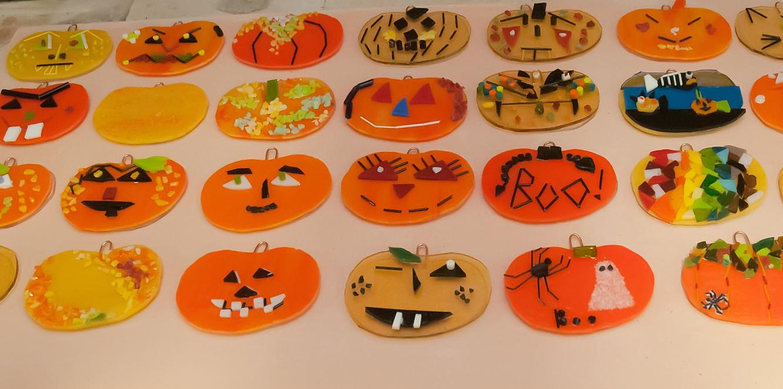 Fused Pumpkins