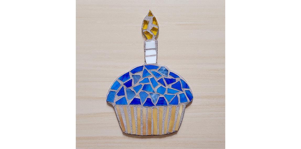 Mosaic Cup Cake