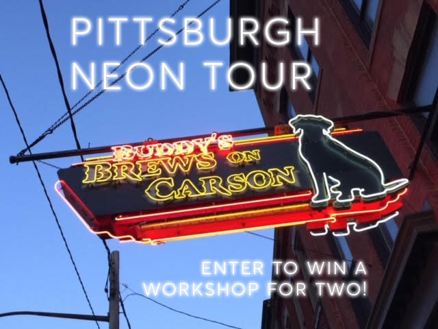 Pittsburgh Neon Tour - photo by Chuck Biddle