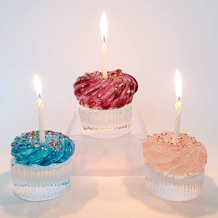 Glass Cupcake