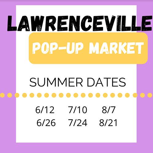 Lawrenceville Pop-Up Market artist opportunity
