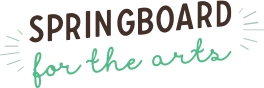 Spring Board for the arts logo