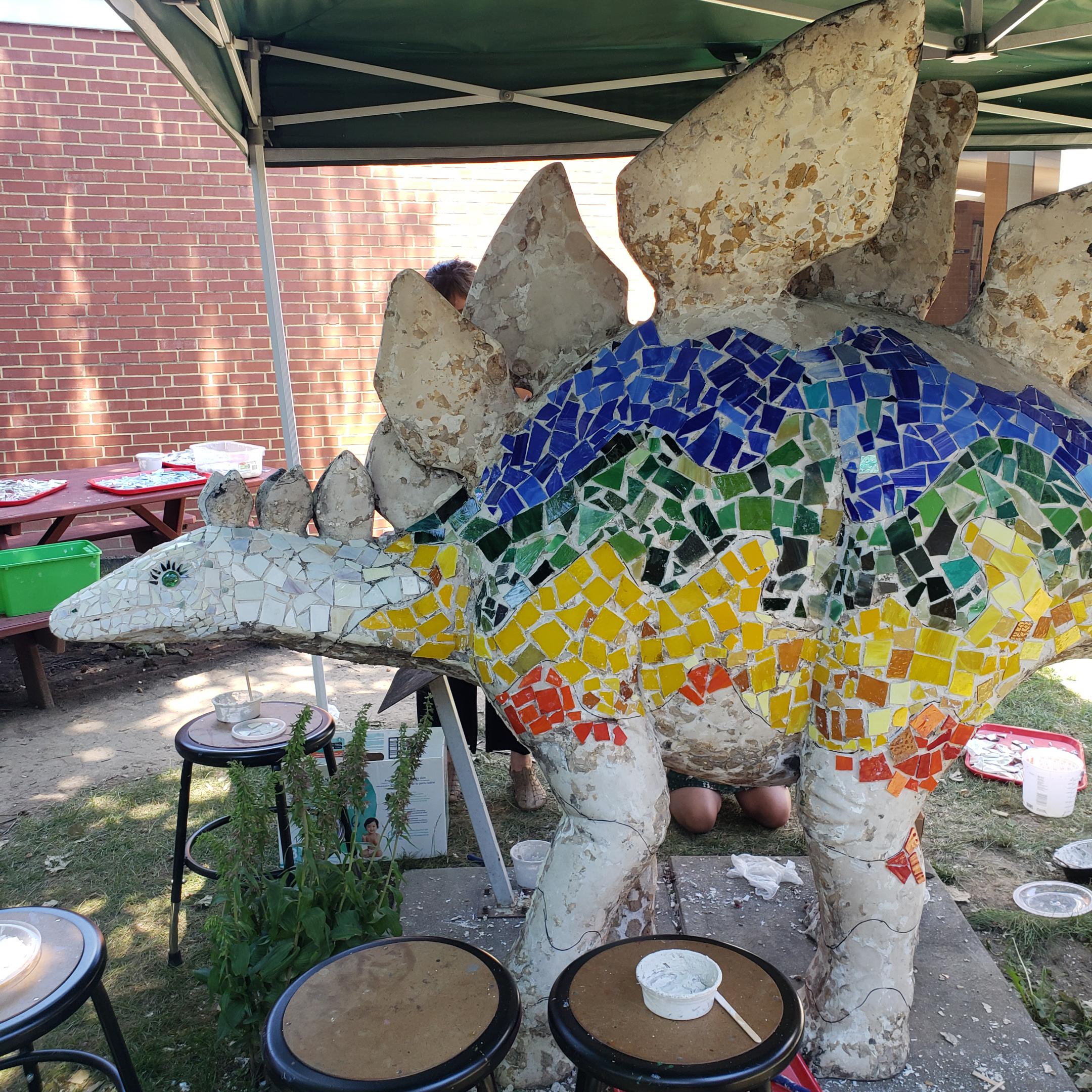 Mosaic Dinosaur