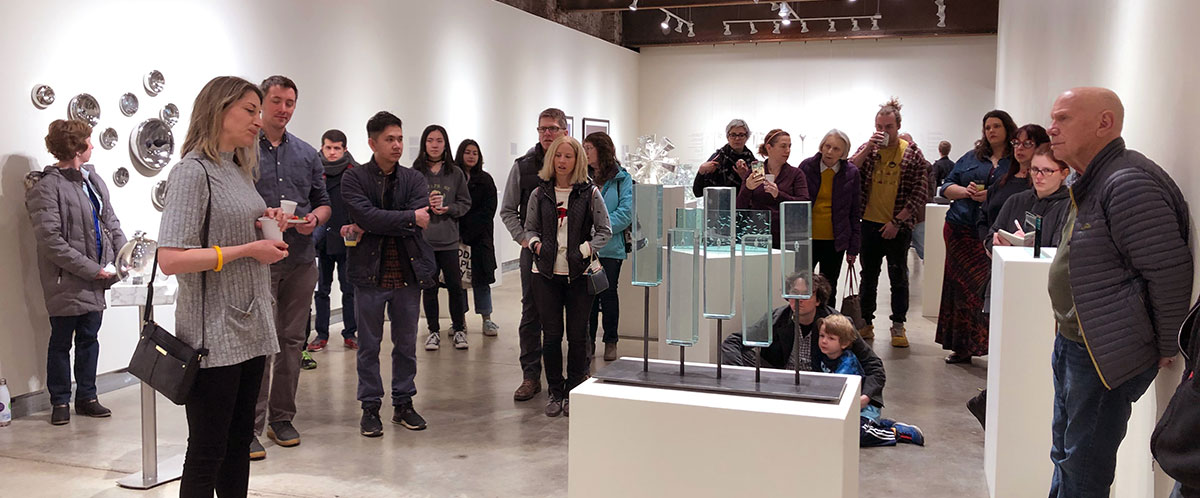 Silica Valley Artist Talk and Gallery Tour at Pittsburgh Glass Center