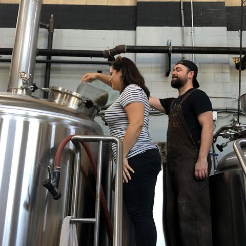 PGC staff help to brew beer collaborations at local breweries
